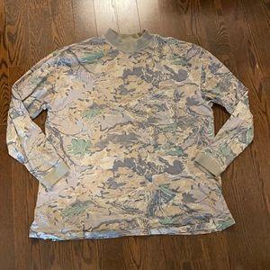 Yeezy season 4 camouflage long sleeve top